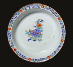 Kakiemon-style enamelled bowl c1690