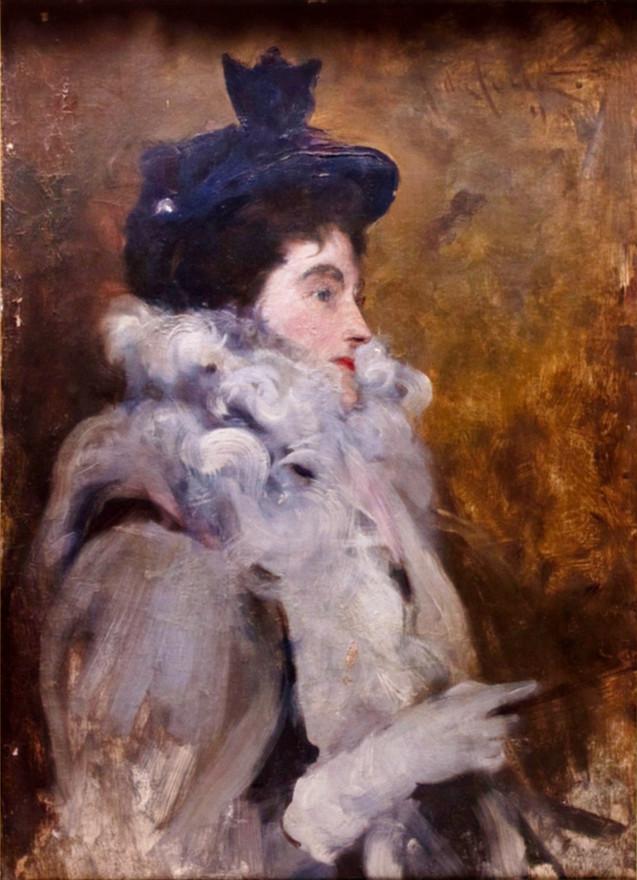 JOHN DA COSTA   Lady Dilke   1898