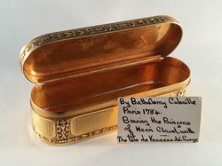 French gold snuff Cabaille 4