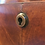 Thumbnail: A superb William IV flame mahogany concave-fronted chest of drawers, c1830