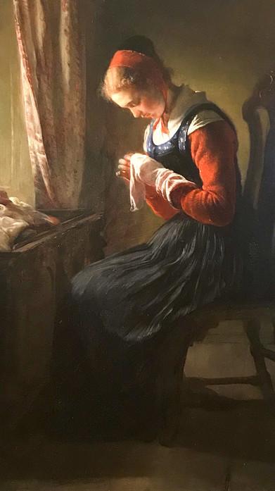 Elisabeth Jerichau-Baumann detail
