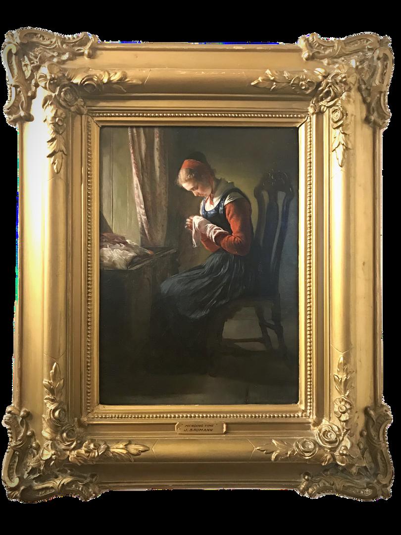 Elisabeth Jerichau-Baumann frame
