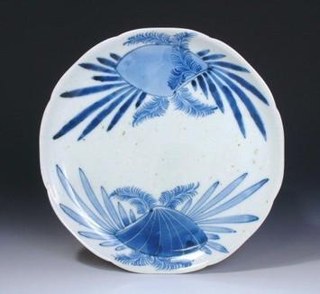 Arita ko-Imari clams dish, c1690