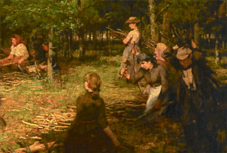 W.S. MACGEORGE | Exhibted at The Royal Scottish Academy 1889