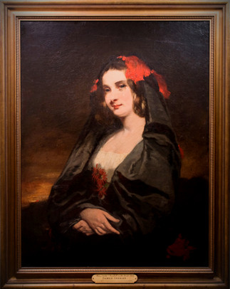 JAMES INSKIPP | Portrait of a Maja | c1835