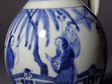 Export wine ewer, Chokichidani kiln, c1665