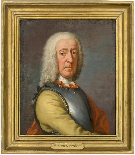 Andrea Soldi (Italian, 1703-1771) Portrait of James Francis Edward Stuart, 1755