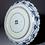 Thumbnail: A splendid 17thc Japanese Ai Kutani moulded dish, Chokichidani kiln, Arita c1655