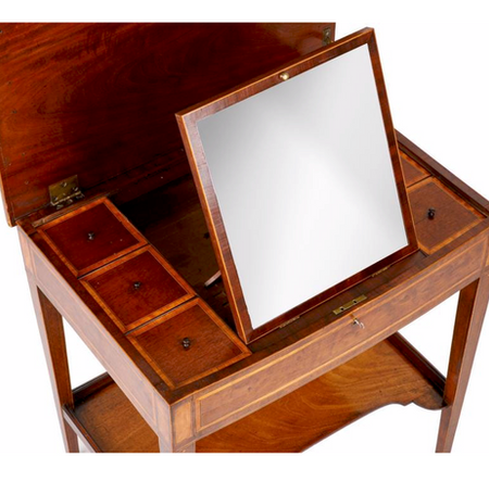 Young, Trotter & Hamilton dressing table c1795