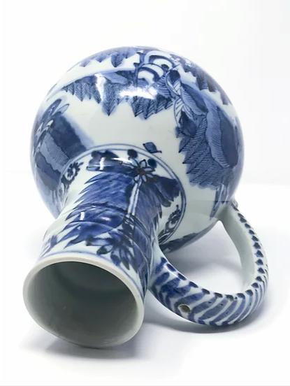 Japanese Export, European form, beer jug, Arita kiln, c1665