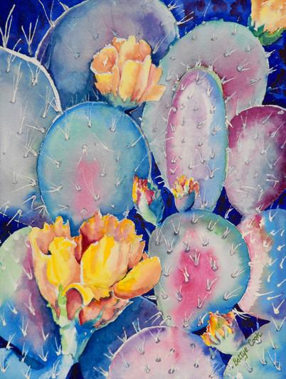Bettye Cook, watercolors