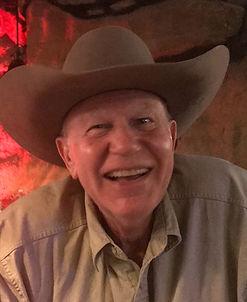 man in cowboy hat jim severns ost gallery