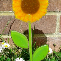 Sunflower garden decoration