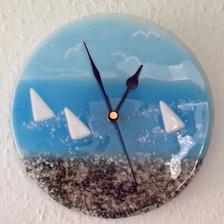 Seaside Clock round