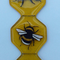 Bee hanging decoration commission