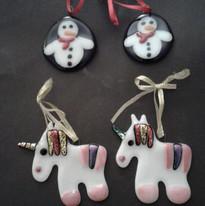 Snowmen & unicorns