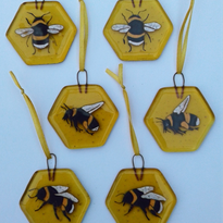 Bee hanging decorations