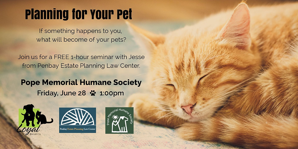 Planning for Your Pet