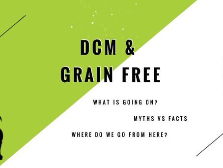 DCM & Grain Free Diets: Myths vs Facts
