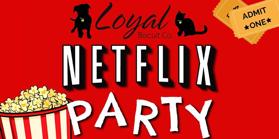 """Netflix Party: """"Bolt"""""""