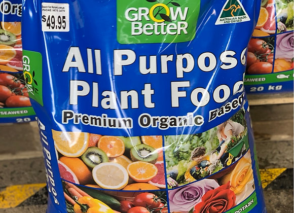 Grow Better All Purpose Plant Food 20 kg