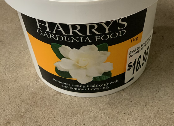 Harry's Gardenia Food