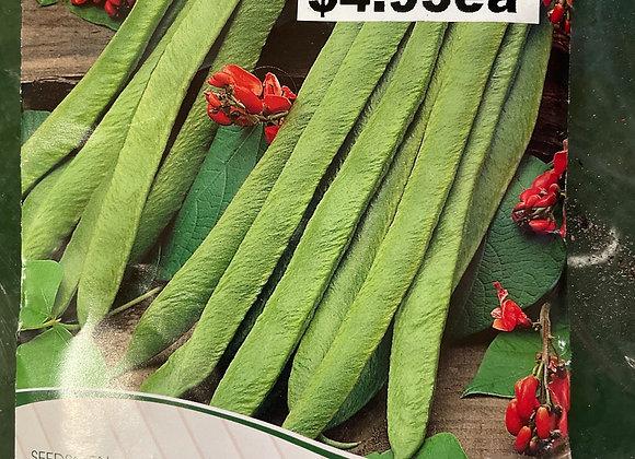 Seeds - Climbing Bean Scarlet Runner