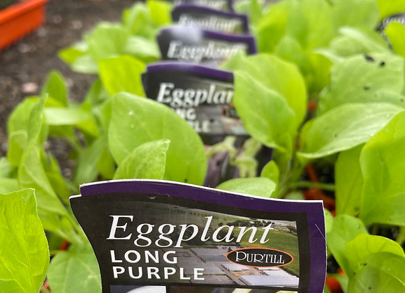 Eggplant - Long Purple punnet