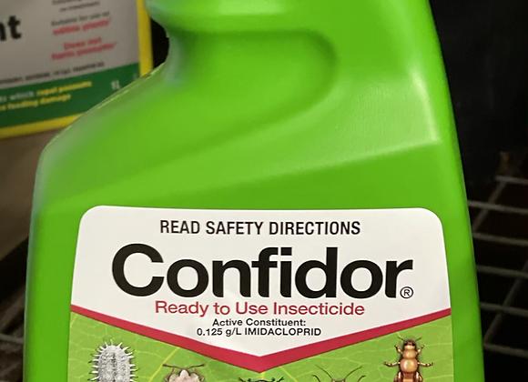 Confidor RTU Spray. Systemic insecticide.