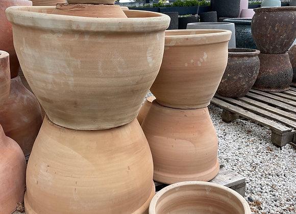 Karachi Planter Terracotta - MED 30x23cm