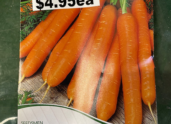 Seeds - Carrot Scarlet Nantes SEED TAPE