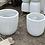 Thumbnail: Egg Pot Cement lite white 55cm