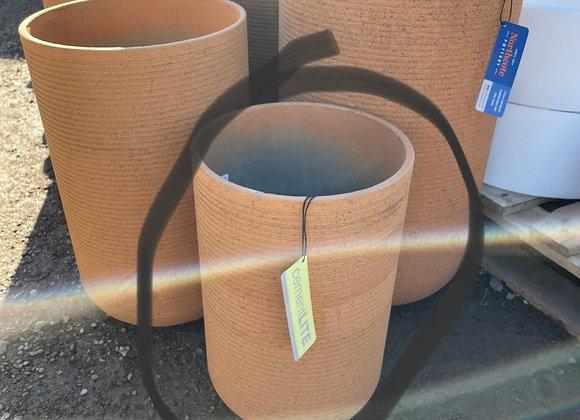 Cement lite pot small