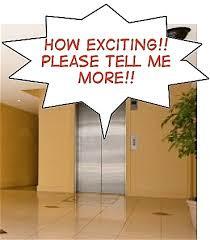 Elevator Speech Moments Do Happen