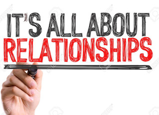 It's About Relationships