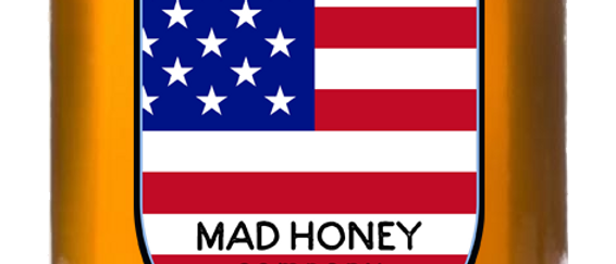 Mad Honey bottle 300gr + free shipping to USA