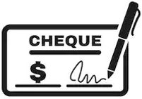 Cheque's Accepted