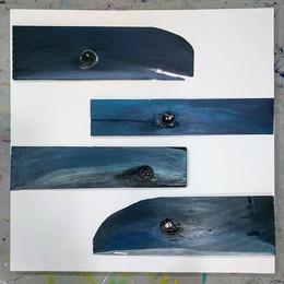 Cedar wood shingles make GREAT whales!🐳
