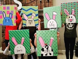 Bunnies! #imagineartsplainfield