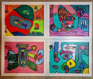 Abstract Awesomeness. 1st,  3rd, 5th gra
