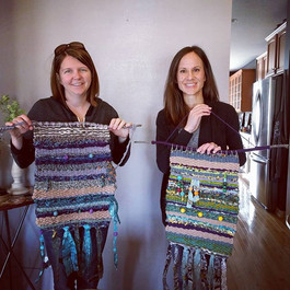 Beautiful Weavings Mary & Nicki!! #weavi
