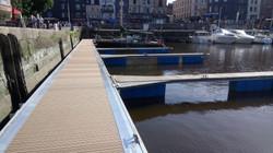 SYLNEO ponton bois composite
