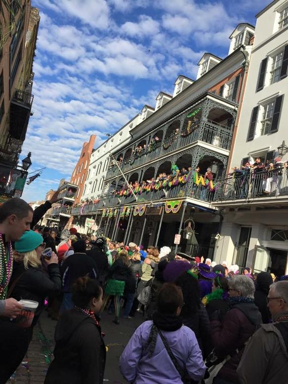 Happy Mardi Gras! #NOLAadventure