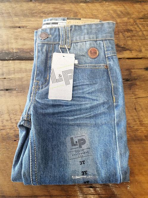 Pantalon Jeans Bleu LP