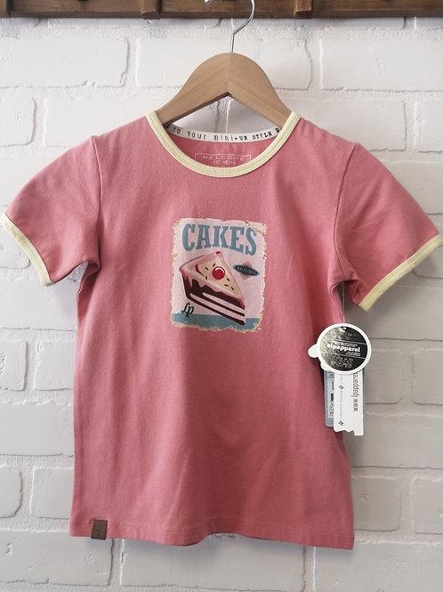 T-Shirt LP Filles Cakes
