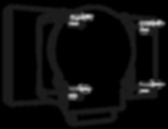 Strapmaster. Montieren Sie das Rücholsystem am oberen Dachspriegel mit Schrauben oder Blindnieten. Optional für Dachspriegel unter 140 mm:  Befestigen Sie die Adapterplatte mit dem montierten Rückholsystem so an dem Dachspriegel, dass sich das Scharnier frei bewegen lässt.