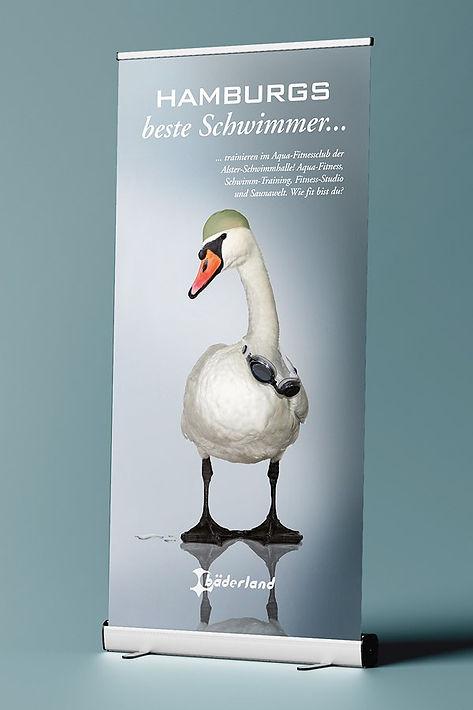 woa hamburg werbeagentur, Bäderland Kampagne.