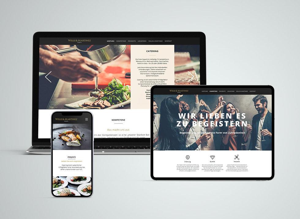 woa hamburg werbeagentur, Wille & Martinez Webdesign.