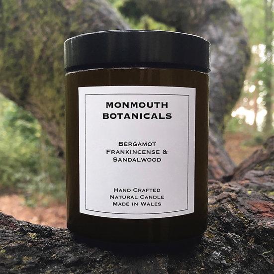 Bergamot, Frankincense & Sandalwood Candle