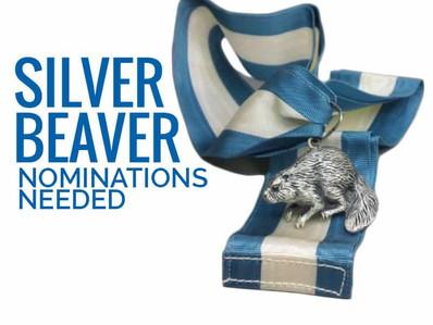 SILVER BEAVER NOMINATION ANNOUNCEMENT